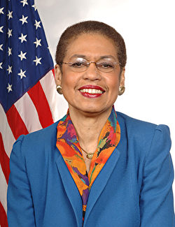 美國華盛頓哥倫比亞特區聯邦眾議員埃莉諾‧霍姆斯‧諾頓(Eleanor Holmes Norton)。(官方圖片)