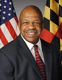 馬里蘭州聯邦眾議員伊萊賈.卡明斯(Elijah E. Cummings)。(官方圖片)