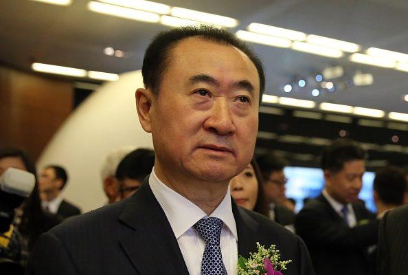 王健林大举进军好莱坞料将受到美国两部门的调查。(Isaac Lawrence/AFP/Getty Images)