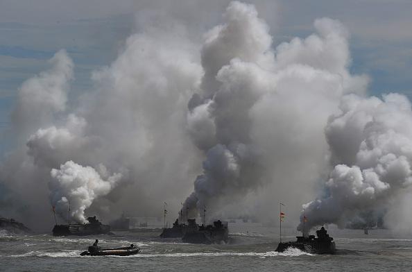 "美国将领们4日说,未来的战争将是""极为致命而迅速""。(CHAIDEER MAHYUDDIN/AFP/Getty Images)"