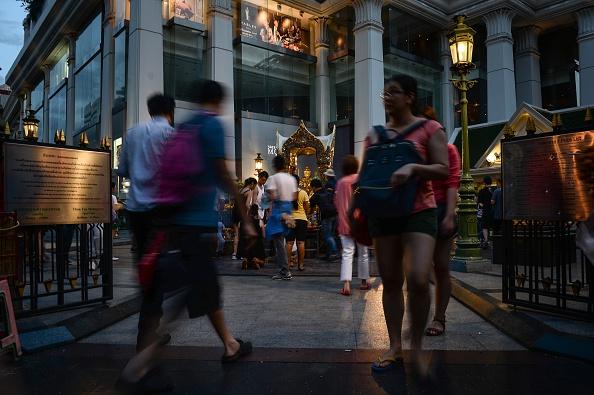 泰国是中国游客最爱的旅游胜地。(LILLIAN SUWANRUMPHA/AFP/Getty Images)