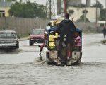 海地慘遭颶風「馬修」肆虐。  (HECTOR RETAMAL/AFP/Getty Images)