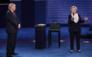 【直播】美第二场总统辩论 激辩诚信操守