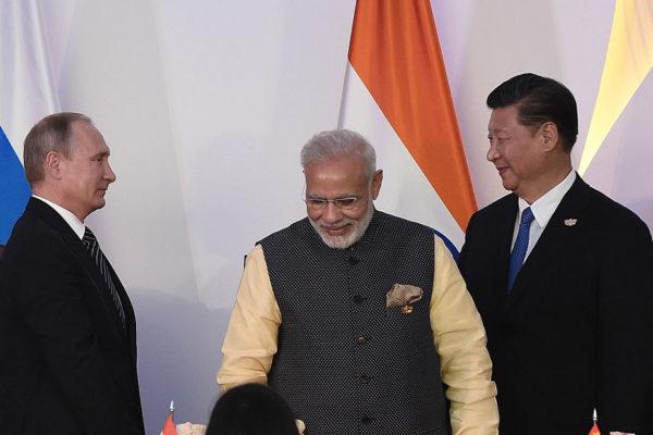 金磚五國峰會 中俄印推進合作