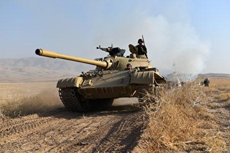 伊拉克精銳部隊已進逼IS在伊拉克的最後大本營摩蘇爾。(Carl Court/Getty Images)