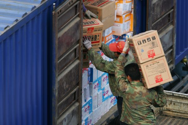 四分之三的中朝贸易是通过丹东口岸进行。(Cancan Chu/Getty Images)