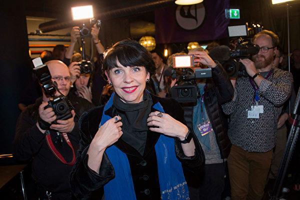冰島大選 「海盜黨」晉身國會前三大黨
