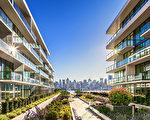 莱纳地产推出的帝国港1200 Avenue 建筑,直面曼哈顿中城、共103套高档套房,目前已售出一半以上。(Lennar公司提供)