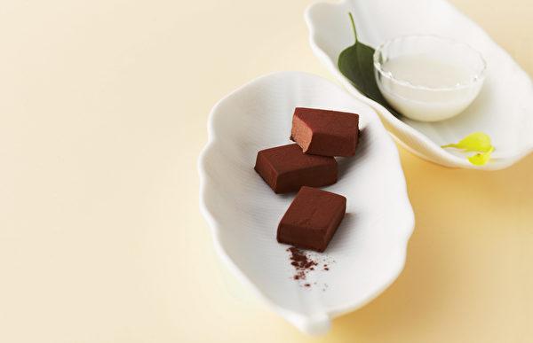 ROYCE'生巧克力。(ROYCE提供)