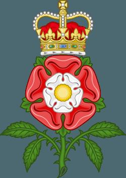 英格兰国花–玫瑰。(公有领域)