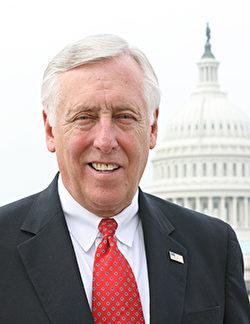美國國會眾議院少數黨領袖、聯邦眾議員霍耶(Steny Hoyer)。(官方圖片)