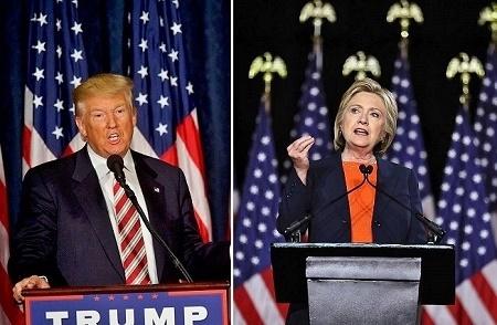 希拉里和川普今晚在拉斯维加斯进行11月8日总统大选之前最后一次辩论,两位候选人将在这场辩论上面对一些困难的问题。(Mark Makela/Getty Images)