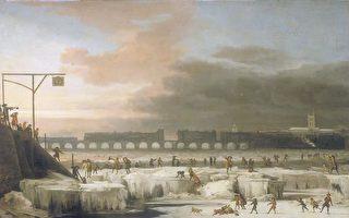 英国诺桑比亚大学数学教授扎尔科瓦(Valentina Zharkova)表示,由于太阳磁活动将减少高达60%,地球将在大约15年内进入另一阶段的冰河时期。图为1677年冰冻的泰晤士河。(维基百科公有领域)
