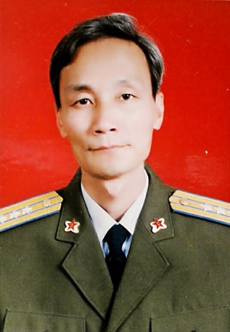原空军上校朱黎明1992年档案照。(大纪元)