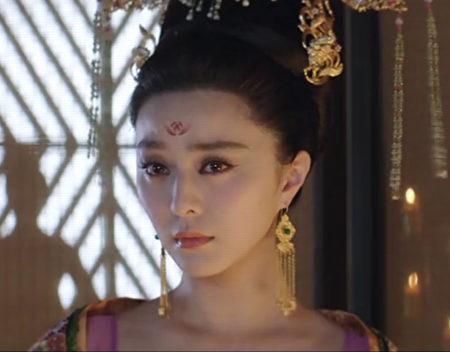 《王朝的女人》剧照,范冰冰再饰杨贵妃。(网络图片)