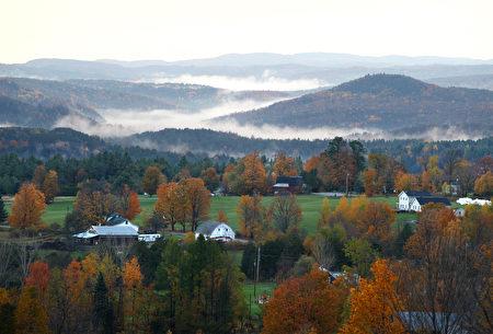 佛蒙特州一年四季都有美丽的风景(STAN HONDA:AFP:Getty Images)