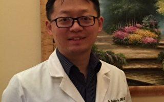 橙县牙周病学/植牙专科卢啸晨(Sheldon Lu,DMD, MS)医师。(本人提供)