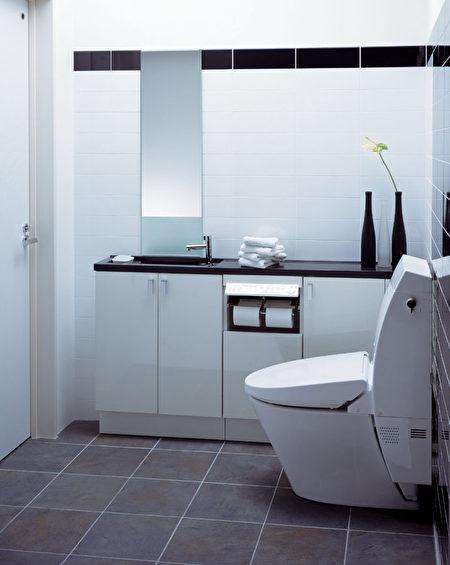 日本許多店舖的廁所演繹一種高級化,體現店家的品格。(網絡圖片)