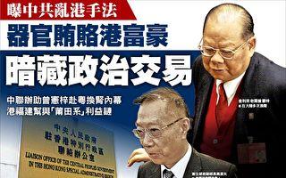 中共用器官贿赂香港富豪 暗藏政治交易
