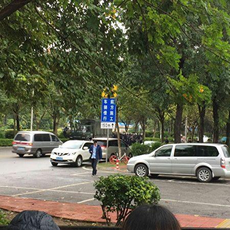 11月10日,索尼電子華南有限公司數千名員工罷工,抗議公司被大陸民營企業收購。(網絡圖片)