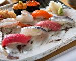 色彩艳丽的新鲜寿司。(Shimizu 寿司酒吧提供)