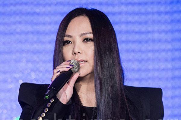 张惠妹资料照(陈柏州/大纪元)
