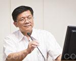 """经济部长李世光上任以来,极力推动""""五加二旗舰方案"""",而""""能资源整合""""为循环经济的第一步。(陈柏州/大纪元)"""