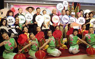 """受邀参加台北国际旅展的在地优质产业晁阳推出他们的新产品""""葱油饼""""。(廖素贞/大纪元)"""