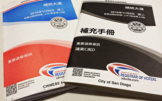 【选举专栏】(五)中文选票和 中文选举资料