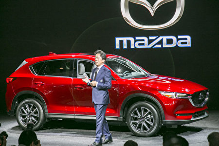 Mazda CX-5首次亮相洛杉矶车展