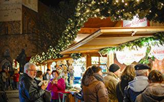 组图:德国柏林的亚历山大广场圣诞市场