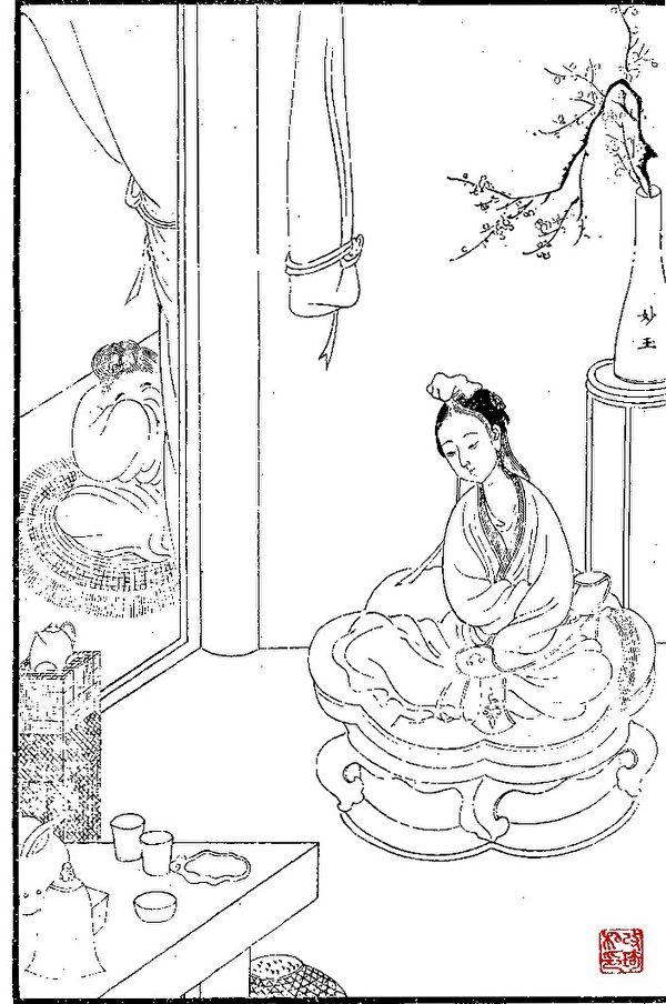 【紅樓才女】金枝玉葉的修行者 妙玉 | 梅 | 紅樓夢 | 聯句
