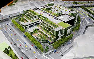 台北市環南市場民國67年興建完工啟用,陪伴台北人近40年,承載滿滿回憶,6日動工改建,將採用綠建築概念,分2階段6年時間完成,總經費新台幣55億元。(台北市府提供)