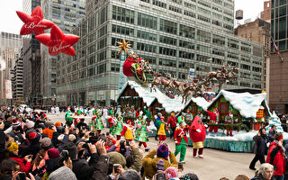 2016纽约第90届梅西感恩节大游行。(戴兵/大纪元)