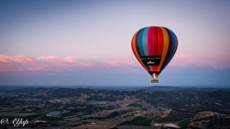 熱氣球日出之旅。(Go Wild提供)