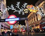 摄政街(Regent Street)是位于英国首都伦敦西区的一条街道。为伦敦的主要商业街,以高质量的英国服装店著称,也是一百多年来伦敦城市文化的象征。(Photo by Oli Scarff/Getty Images)