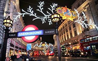 攝政街(Regent Street)是位於英國首都倫敦西區的一條街道。為倫敦的主要商業街,以高質量的英國服裝店著稱,也是一百多年來倫敦城市文化的象徵。(Photo by Oli Scarff/Getty Images)