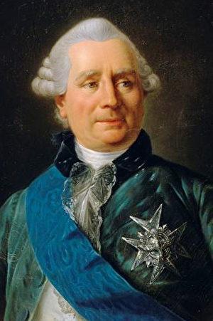 韦尔热讷伯爵夏尔.格拉维耶(Charles Gravier, comte de Vergennes,1717年12月20日-1787年2月13日)是法国政治家和外交家。路易十六统治时期的1774年担任外交大臣,策划与北美洲殖民地居民结成同盟,帮助他们在美国独立战争中摆脱英国的统治,同时他还成功地在欧洲建立起一个稳定的力量均势。(维基公共领域)