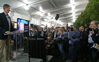 亞馬遜公司發佈新一代BlueLink。 (楊陽/大紀元)