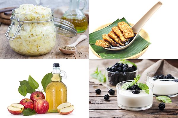 四類含乳酸菌的食物(Shutterstock)