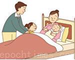 家中添了一个新生婴儿,家长帮助哥哥姐姐们调整心态,适应新生婴儿是非常有必要的。(fotolia)