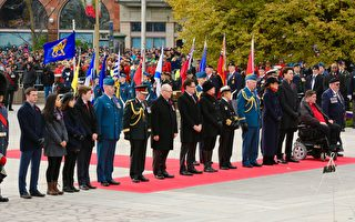 组图:又是老兵节 加拿大在世老兵越来越少