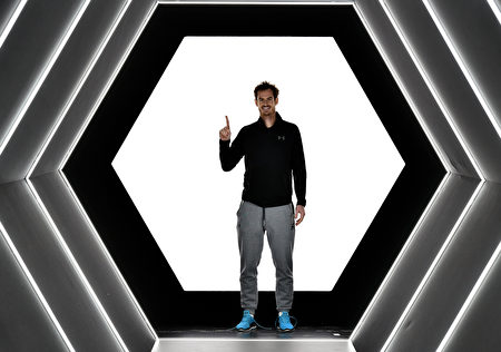 巴黎大师赛,英国名将穆雷首次夺得冠军,完美登上世界第一宝座。(Dan Mullan/Getty Images)