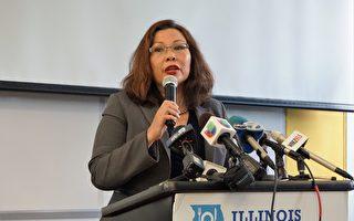 华裔达克沃斯赢得伊州联邦参议员