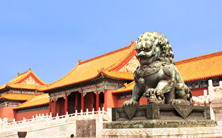 Lion statue in Forbidden City, Beijing, China(Fotolia)