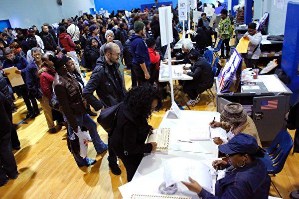美大選日熱鬧登場 選民在投票時怎麽說