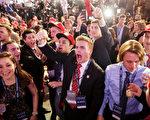 川普支持者情緒高漲。  (Chip Somodevilla/Getty Images)