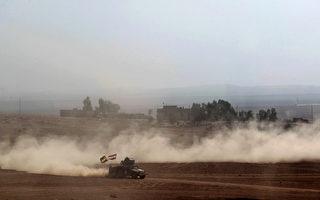 伊拉克軍正在猛烈攻打極端組織「伊斯蘭國」(IS)。(AHMAD AL-RUBAYE/AFP/Getty Images)