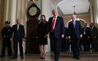 川普(特朗普)入主白宮後,將會推出一些大型改革。  (Mark Wilson/Getty Images)