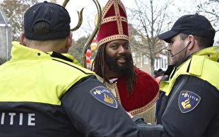 """荷兰圣尼古拉节大兴警力 大臣称""""丢脸"""""""